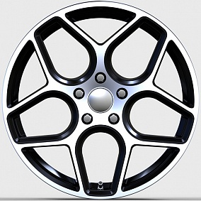 Диски Race Ready CSS9531 BE-P-LS-W/M5 7x17 5x108 ET50 DIA63,3